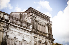 Sino-Portuguese buildings Royalty Free Stock Images