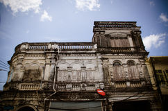Sino-Portuguese buildings Stock Photos