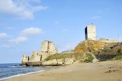 Sinop城堡。 库存图片