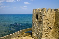 Sinop. The old turkish city of Sinop near the Black sea Royalty Free Stock Images