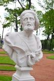 Sinope的古希腊哲学家第欧根尼雕象  库存图片