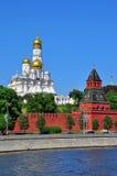 Sinos de igreja do Kremlin Imagem de Stock