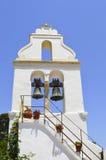 Sinos de igreja grega velhos Fotografia de Stock Royalty Free