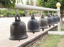 Sinos de igreja tailandeses Imagem de Stock Royalty Free