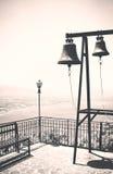 Sinos de igreja, vintage Fotografia de Stock Royalty Free