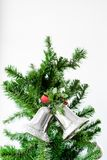 Sinos de Natal Imagem de Stock