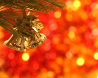 Sinos de Natal Foto de Stock