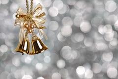 Sinos de Natal Imagens de Stock