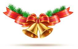 Sinos de Natal Fotos de Stock Royalty Free