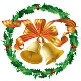 Sinos de Natal Foto de Stock Royalty Free