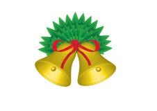 Sinos de Natal Fotografia de Stock Royalty Free