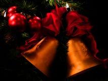 Sinos de Natal Fotos de Stock