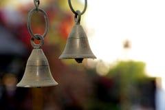 Sinos de porta tradicionais para a casa Fotos de Stock Royalty Free