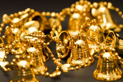 Sinos do ouro Fotos de Stock Royalty Free