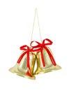 Sinos dourados Imagem de Stock Royalty Free