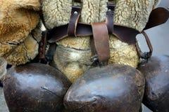 Sinos rituais usados por kukers Imagens de Stock Royalty Free