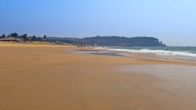 Sinquerim strand Royaltyfri Bild