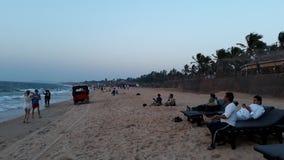 Sinquerimstrand Goa Royalty-vrije Stock Foto