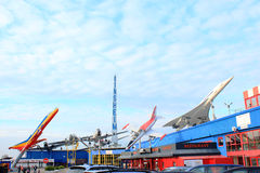 Sinsheim Museum. Germany. Big science and technology museum Royalty Free Stock Images
