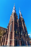 Sint-Catharinakerk in Eindhoven, The Netherlands. Picture of the Sint-Catharinakerk in Eindhoven, The Netherlands royalty free stock image