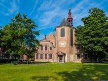 Sint-Elisabeth Begijnhof,跟特,比利时的教会 免版税图库摄影
