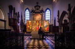 Sint-Jan Hospitaalmuseum in Bruges, Belgium Stock Images