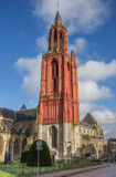 Sint Janskerk in the historical center of  Maastricht Royalty Free Stock Images