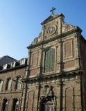 Sint Jozef College Aalst. Exertior view of the older parts of St. Josephs College in Aalst in Belgium Stock Image
