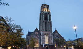 Sint Laurenskerk church Royalty Free Stock Image