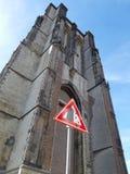 Sint-Lievensmonstertoren Dikke Toren Zierikzee στοκ φωτογραφίες
