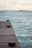 Sint Maarten Dock Immagine Stock Libera da Diritti