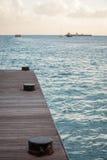 Sint Maarten Dock. Sint Maarten Harbor Dock for Boat Royalty Free Stock Image