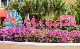 Sint Maarten, Philipsburg royalty-vrije stock foto