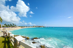 Sint Maarten/St Martin. Beautiful view of caribbean island St.Martin Stock Photo