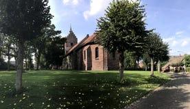 Sint-Magnuskerk en Anloo fotografía de archivo libre de regalías
