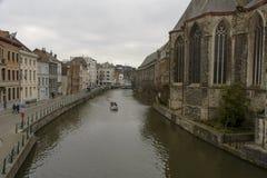 Sint-Michielskerk (St. Michael), Ghent Royalty Free Stock Image