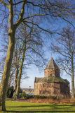 Sint Nicolaas church in the Valkhof park in Nijmegen Stock Photography