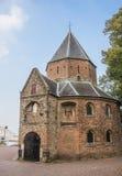 Sint Nicolaas church and waalbrug in Nijmegen Royalty Free Stock Images