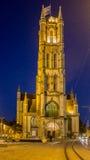 Sint Niklaaskerk Antwwerp Belgien Arkivfoto