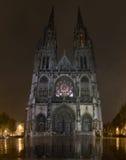 Sint-Petrus-Engels-Pauluskerk, kerk in Oostende, België stock foto's