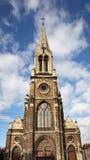 Sint-Servaaskerk kyrka i Bryssel _ Royaltyfri Bild