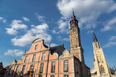 Sint - Truiden Town hall Royalty Free Stock Image