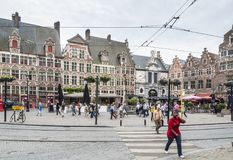 Sint Veerleplein, herre Royaltyfri Bild