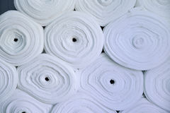 Sintepon. Insulation for clothing. material. Stock Image