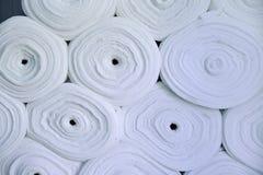 Sintepon Isolierung für Kleidung material Stockbild