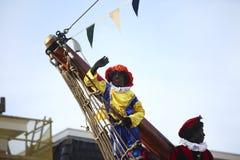 Sinterklaad festmåltid i Holland Fotografering för Bildbyråer