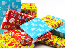 Sinterklaas的礼物 库存图片
