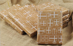 Sinterklaas的礼物 免版税库存照片