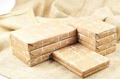 Sinterklaas的礼物 库存照片