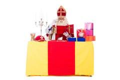 Sinterklaas运作 免版税图库摄影